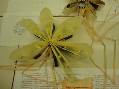 fiore di carta di riso